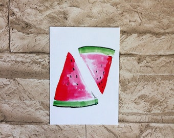 Post card • melon •