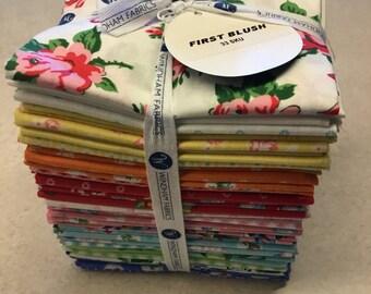 First Blush Fat Quarter Bundle 33 Pieces by Windham Fabrics 100% Cotton