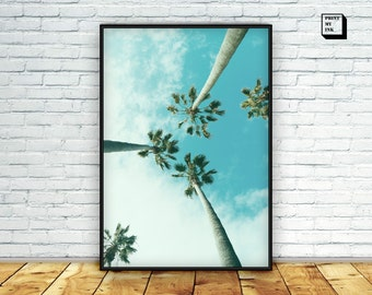 palm tree photograph | etsy, Hause ideen