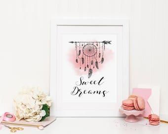 Sweet Dreams Wall Print ***DIGITAL FILE***