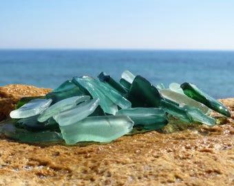 40 pcs mint green color sea glass blue sea glass bulk beach glass bulk jewelry making supply recycled jewelry beach jewelry charms bulk