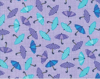 Rainy Days - Pouring Purple - 22291 11 - Moda Fabrics - Cotton - Quilting Fabric - Material - Fabric By The Yard - Home Decor