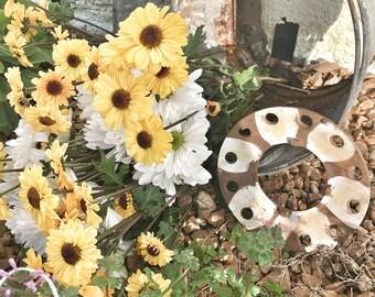 Vintage  garden plow discs