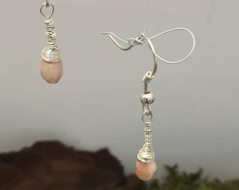 Briolette earrings