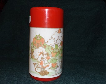 Vintage Strawberry Shortcake  Thermos