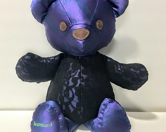 Felicity- 21 inch Teddy Bear, made from designer fabric, Bearmoooh Teddy Bear