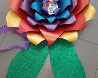 Paper Flower Template PDF digital file #36