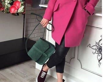 Handmade leather shoulder bag, leather  handbag women from genuine leather, leather bag, Leather CrossBody Bag, Leather Bag Purse, women bag