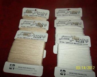darning thread lot of 6 packs