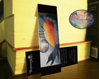 Bookmark scorpio horoscope, zodiac bookmark, bookmark text horoscope, brand single page