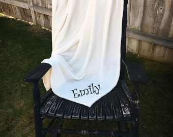 Personalized Throw Blanket