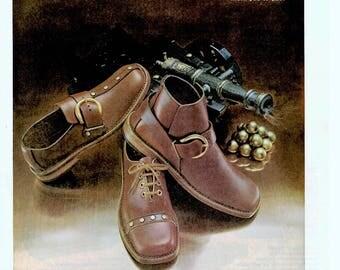 1970 Roblee shoes Vintage magazine Advertisment wall decor shoe shop (1705) #2