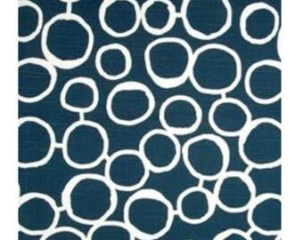 Navy blue circles
