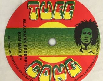 Bob Marley reord label sticker.