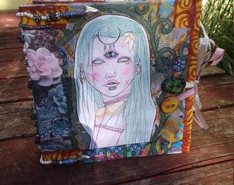 Goddess art journal