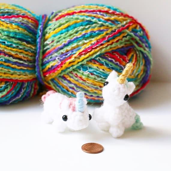 PATTERN - Amigurumi Mini Unicorn Plush Crochet Pattern ...