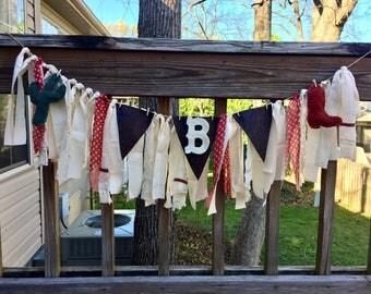 Nursery Fabric Banner