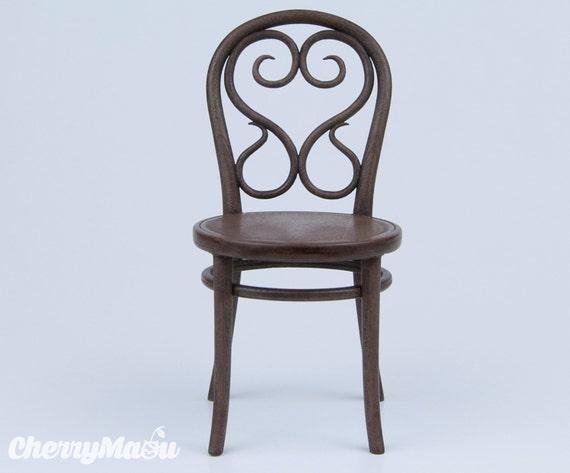 thonet chair n14 scale 1 6 3d print miniature for diorama