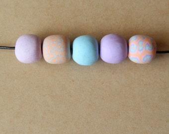 Mathinna - Polymer Clay Bead Necklace