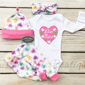 baby girls first valentines day outfit etsy sale