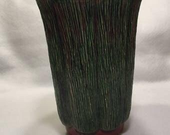 Tree Bark Vase Etsy