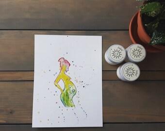 Orginal Watercolour Painting