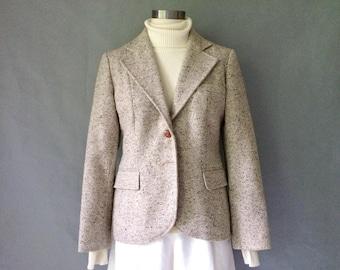 vintage wool blazer/jacket women's size S/M