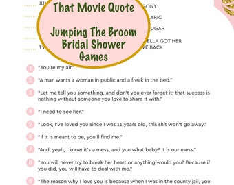 african american bridal shower games jumping the broom black