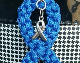 Colon Cancer Awareness Keychain...can be done in any awareness color.