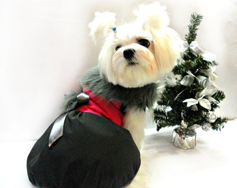 Dog Clothing - dog winter coat - dog jacket - Dog clothes - small pet clothes