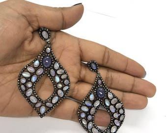 Beautiful  tanzanite earrings