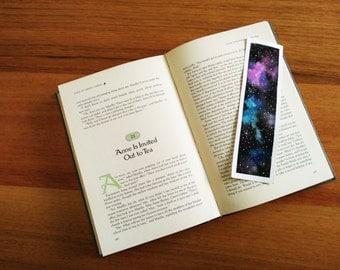 Watercolour Space Bookmark