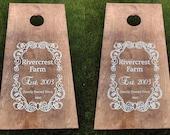 Cornhole Boards, Custom Wedding Cornhole Boards, Corn Hole Boards, Corn Toss Boards, Wedding Corntoss, Corntoss Boards, Design your Own