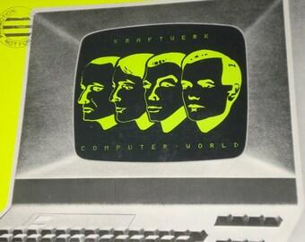 Kraftwerk record album, Computer World vintage vinyl record