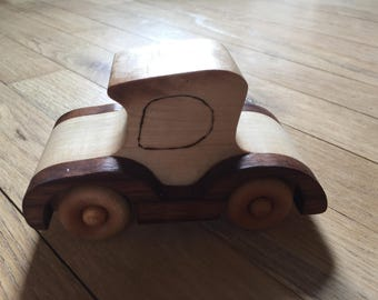 Toy Car Hardwood Toy Durable Toy Car Child's Toy Car Toy Made in the USA