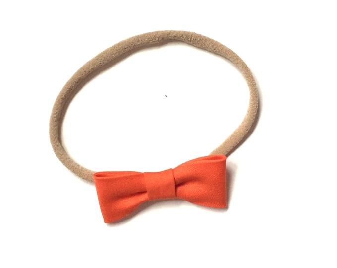 Itty Bitty Headband || Orange