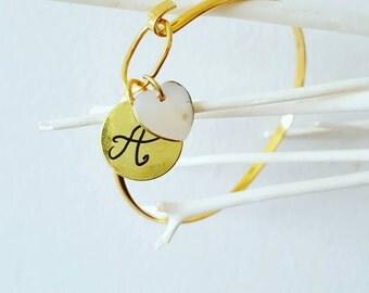 Bracelet personalized, original bracelet, bracelet mother, genealogy, gold plated, bracelet bracelet unique jewelry