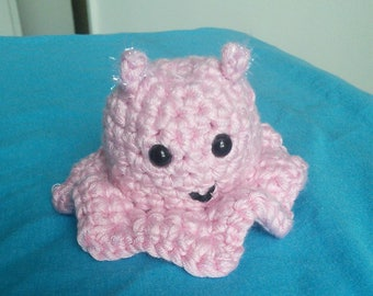 Adorable amigurumi dumbo octopus!    50% of proceeds go to charity
