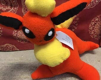 Large Flareon Pokemon Plush