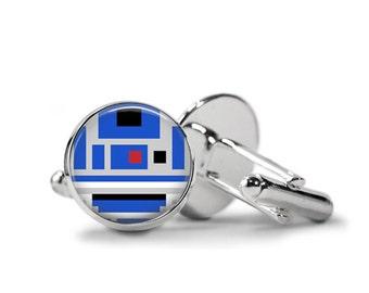 Star Wars Cufflinks R2D2 Cufflinks PM-202