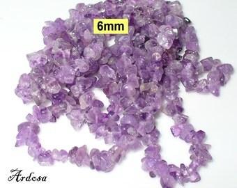 1 chain 90 cm Amethyst 6 mm (788.2)