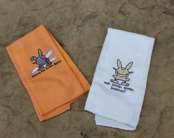Baby Burp Cloths, funny saying burp cloths