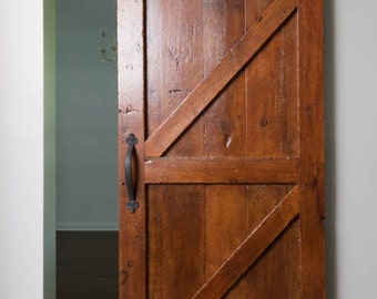 Sliding Barn Door, Interior Barnwood Slider,