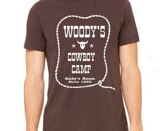 Disney Shirts Mens Woodys Cowboy Camp shirt Toy Story Shirt Pixar Shirt Disneyland Shirt  Disney World Shirt Disney Shirt