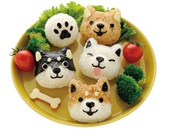 Shiba Inu Rice Ball/Onigiri Maker