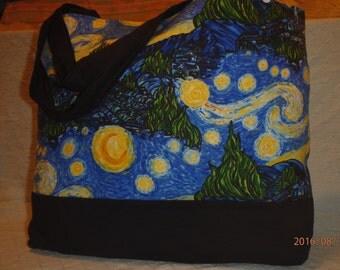 Van Gogh Starry Night tote