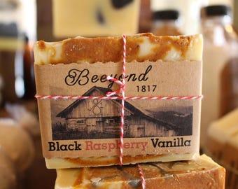 Black Raspberry Vanilla Cold Process Soap