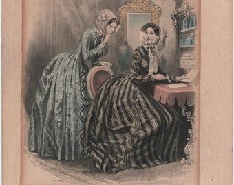 Nineteenth Century French Fashion Plates