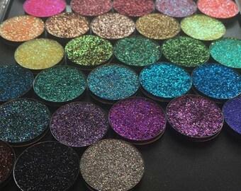 10 Pan Bundle Pressed Cosmetic Glitter