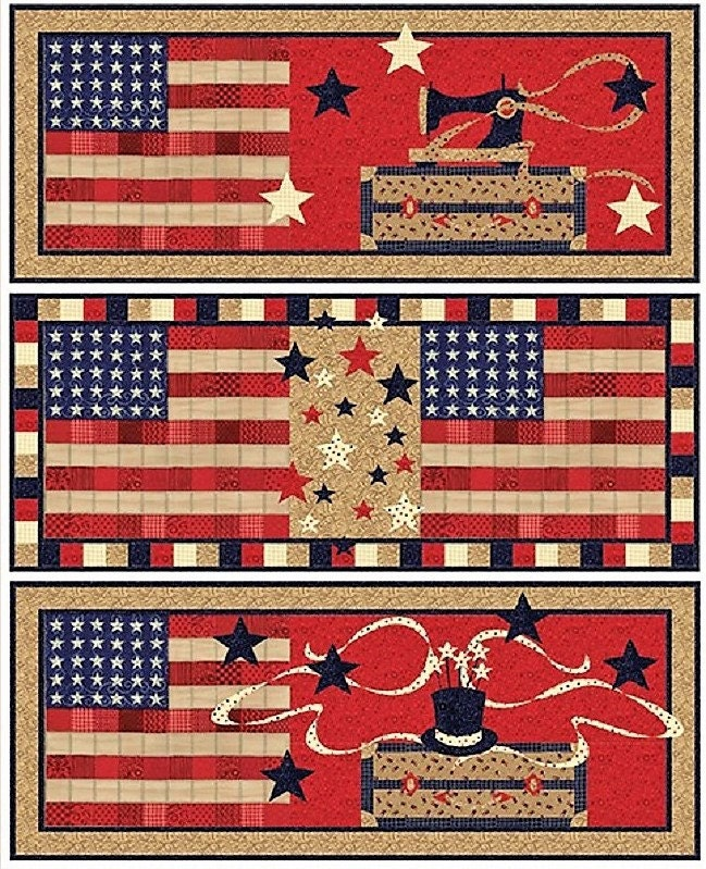 American Quilter Table Runner Quilt Kit Quilt Pattern
